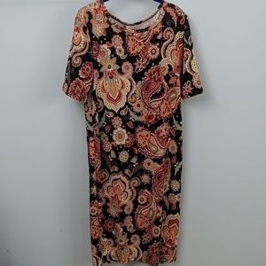Paisley Julia dress